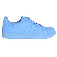 All Color Tennis Sneaker - Sky Blue