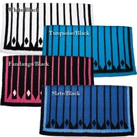 Multi Diamond Show Saddle Blanket