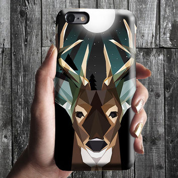 Deer iPhone 6/6S, 6 Plus Case 4S,5S, Galaxy Cover. Mobile Phone Cell. Gift Idea. Anniversary. Gift for him and her