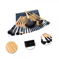 24pcs Professional  Cosmetic Makeup Finishing Brushes