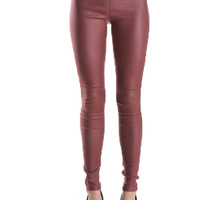Moto Faux Leather Leggings Pants (more colors)- FINAL SALE