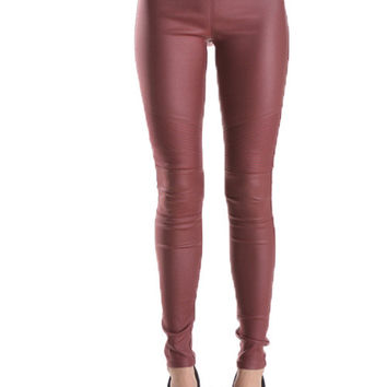 Moto Faux Leather Leggings Pants (more colors)
