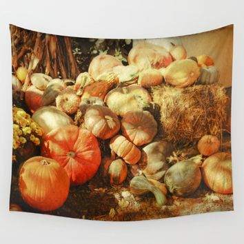 Autumn Collection Wall Tapestry by Theresa Campbell D'August Art