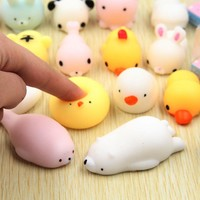 New Cute Lovely Baby Kids Plush Decompression Toys Mini Plush Baby Toys Gifts with Box Pressure Pinching Toy
