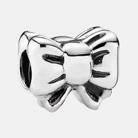 Women's PANDORA '12 Days of Christmas - Day 5 Perfect Gift' Bead Charm - Silver