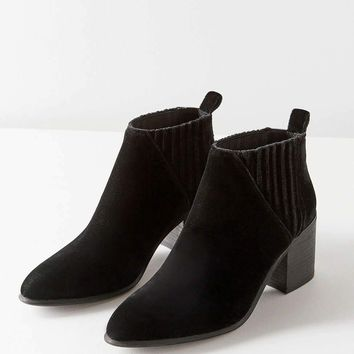 Jeffrey Campbell Viggo Velvet Ankle Boot