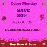 CYBER MONDAY SALE, 24 Hour Sale, 30 Percent Off Sale Don't Miss This Do Not Buy This