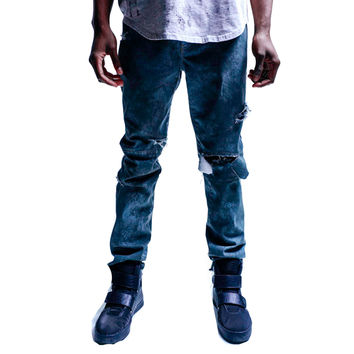 Thread Workshop Skyline Biker Denim Jeans