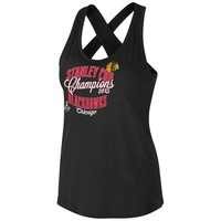 Chicago Blackhawks - 2015 Stanley Cup Champions Grand Slam Juniors Tank Top