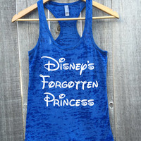 Disney's Forgotten Princess Burnout Racerback Tank Top