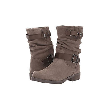 Venice Suede Slouch-Boot