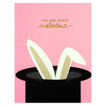 Magic Valentine's Day Card