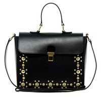 ASOS Leather Stud Across Body Bag
