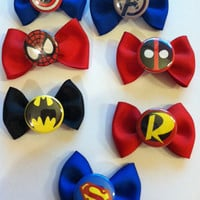 Comic Book Hairbows  -  choose 5