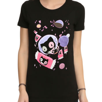 Steven Universe Cookie Cat Space Girls T-Shirt
