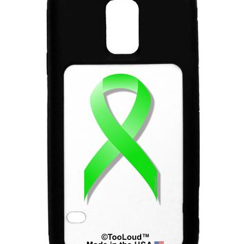 Lyme Disease Awareness Ribbon - Lime Green Galaxy S5 Case  by TooLoud