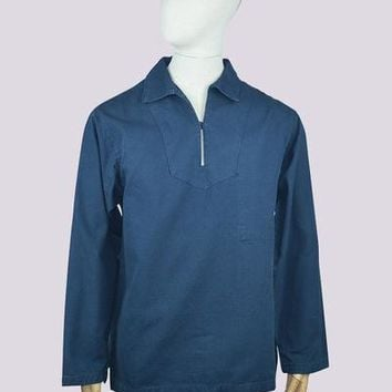 Armor Lux 7531 Smock in Dark Navy