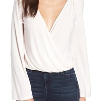 Leith Easy Wrap Top | Nordstrom