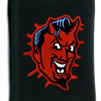 Classic Red Devil Tri-fold Wallet w/ Chain Alternative Clothing
