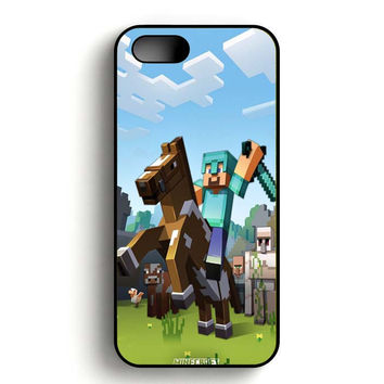 Minecraft design iPhone 5, iPhone 5s and iPhone 5S Gold case
