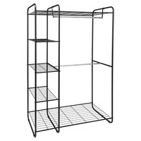 Freestanding Closet - Black/Silver - Room Essentials™