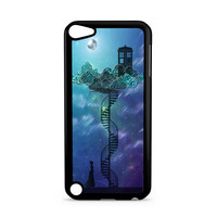 Tardis In Victorian Sky Collage Art iPod Touch 5 | 5th Gen case