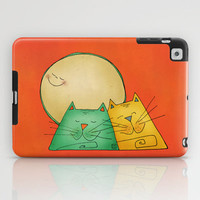 Cats iPad Case by Carina Povarchik
