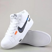 Off White X Nike Fashion Casual Sneakers Sport Shoes-2