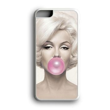 Black Friday Offer Pink Bubble Gum Marilyn Monroe iPhone Case & Samsung Case