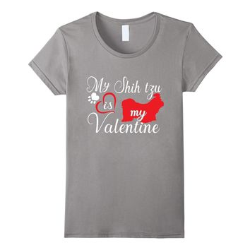 Shih Tzu Shirt For Dog Lover Mom For Valentine's Day 2018