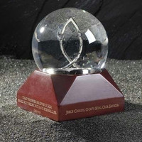 2 Musical Water Globes - Gift Boxes Included