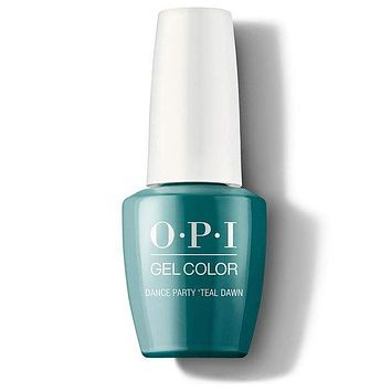 OPI GelColor - Dance Party 'Teal Dawn 0.5 oz - #GCN74