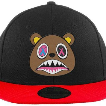 Crazy Baws - New Era 9Fifty 2T Black/Red Snapback Hat