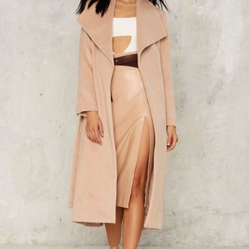 Lapel It to My Heart Maxi Coat