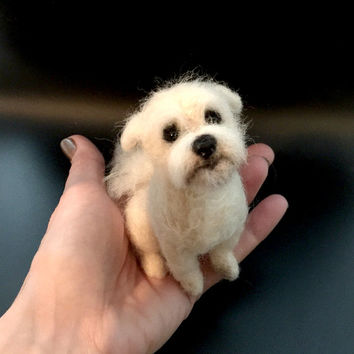 9f7a3ced02d10 Best Needle Felted Dog Portraits Products on Wanelo