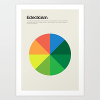 Eclecticism Art Print by Genis Carreras