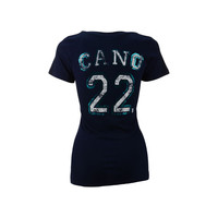 Seattle Mariners Robinson Cano MLB Women's Sugar Player T-Shirt