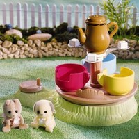 Calico Critters Baby Playground Tea Cup Ride