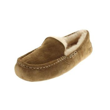 MDIG1O Ugg Australia Womens Ansley Suede Lined Loafers