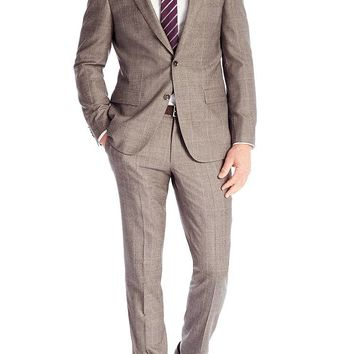 'T-Harvers/Glover' | Slim Fit, Italian Virgin Wool Suit by BOSS