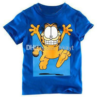 Free shipping New 5 pcs/lot baby boy girl T Shirt cartoon Kids Children Tops tees Summer Wear Short Sleeve Children clothes.