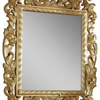 Zelda French Provincial Gold Mirror