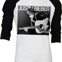 Justin Bieber Icon Pop Rock Men Long Sleeve T Shirt S,M,L