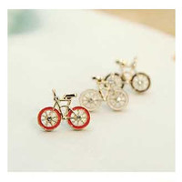 Cute Bicycle Pattern Design Ear Pin