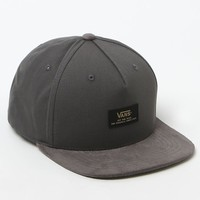Vans Prater Starter Snapback Hat - Mens Backpack - Graphite - One