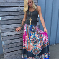 Free As We'll Ever Be Maxi Skirt