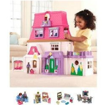Fisher-Price Dollhouse Super Set