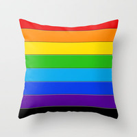 PILLOW PRIDE 101 Throw Pillow by the artist J©
