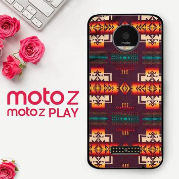 Pendleton Maroon Chief X5090  Motorola Moto Z Play Case