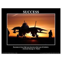 Success I - General George S Patton Poster